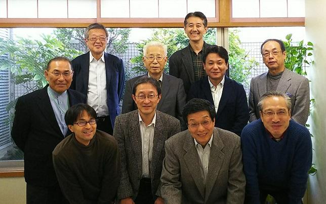 久喜農場見学会での農商工プロジェクトメンバー